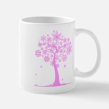 Winter Snowflake Tree Mug