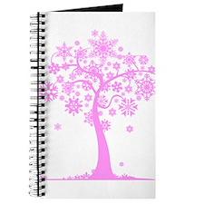 Winter Snowflake Tree Journal