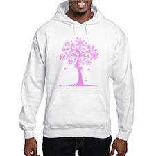 Winter Snowflake Tree Jumper Hoody