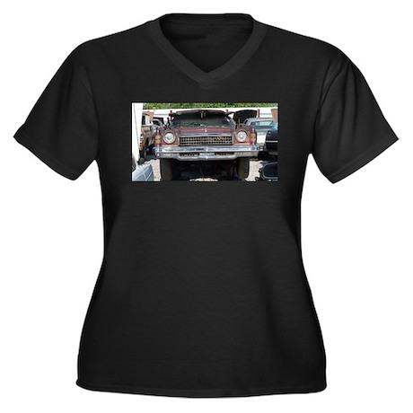 1973 Chevy Monte Carlo Women's Plus Size V-Neck Da