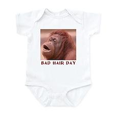 BAD HAIR DAY Infant Bodysuit