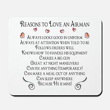 10 Reasons to love an Airman Mousepad