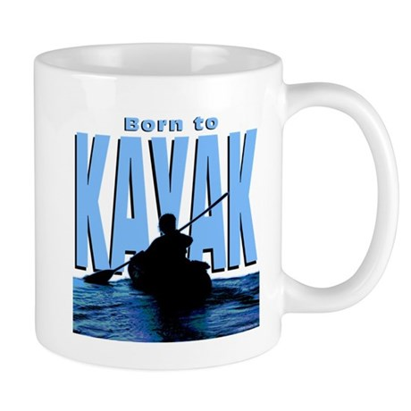 Born to Kayak Mug
