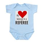 Heart belongs, referee Infant Creeper