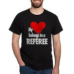 Heart belongs, referee Black T-Shirt