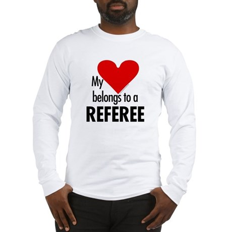 Heart belongs, referee Long Sleeve T-Shirt
