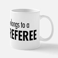Heart belongs, referee Mug