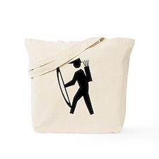 Archery Guy Tote Bag