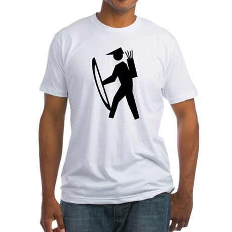 Archery Guy Fitted T-Shirt