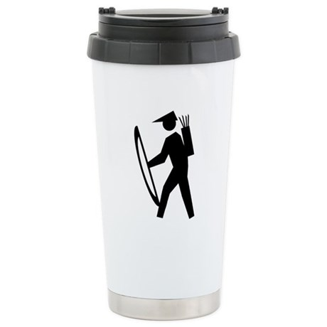 Archery Guy Stainless Steel Travel Mug