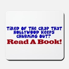 Read A Book Mousepad