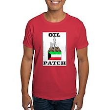 Kuwait Oil Patch T-Shirt,Kuwaiti,Oil,Gas