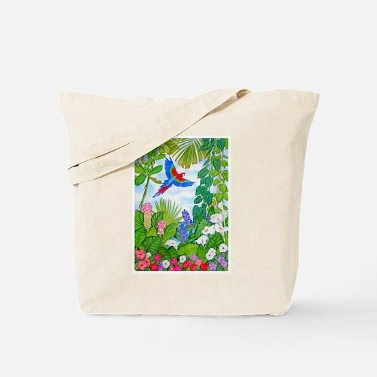 Tropical Paradise Art Tote Bag