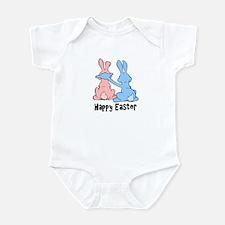 Happy Easter (People Ears) Infant Bodysuit