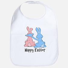 Happy Easter (People Ears) Bib