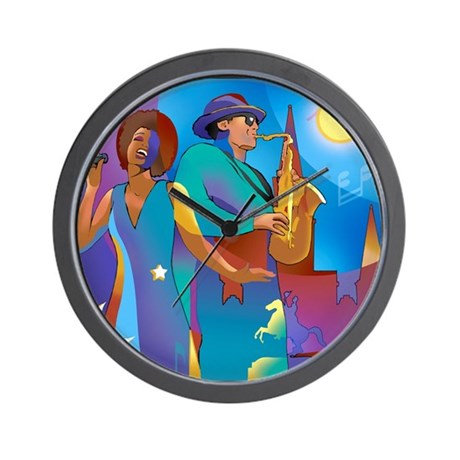 New Orleans French Quarter Wall Clock