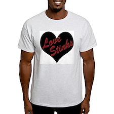 Love Stinks Ash Grey T-Shirt