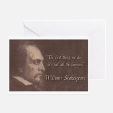 Shakespeare Quote Greeting Card