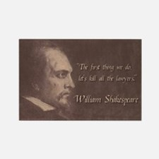 Shakespeare Quote Rectangle Magnet