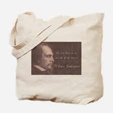 Shakespeare Quote Tote Bag