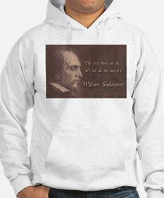Shakespeare Quote Hoodie