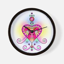 Voodoo Erzulie Veve Wall Clock