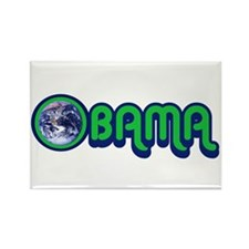 Obama World Rectangle Magnet