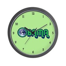 Obama World Wall Clock