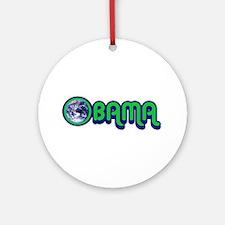 Obama World Ornament (Round)