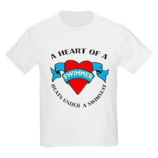 Heart of a Swimmer T-Shirt