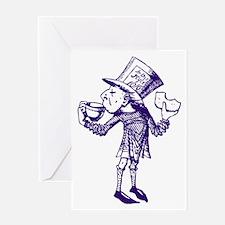 Haigha Purple Greeting Card