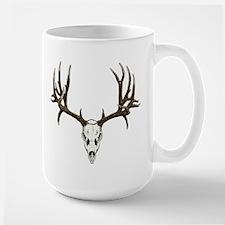 Deer skull Large Mug