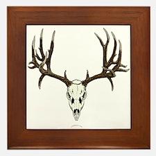 Deer skull Framed Tile