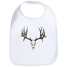Deer skull Bib