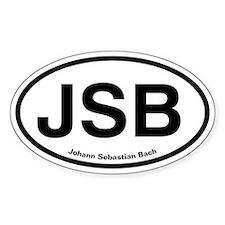 JSB Johann Sebastian Bach Decal