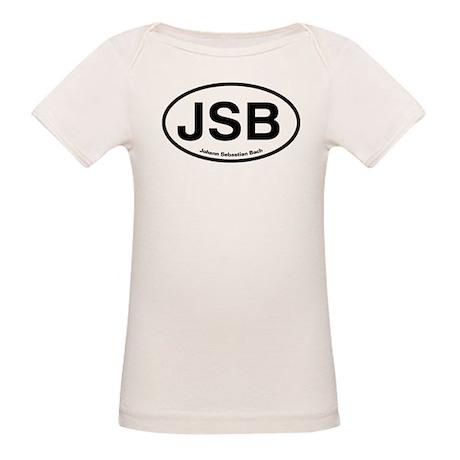 JSB Johann Sebastian Bach Organic Baby T-Shirt