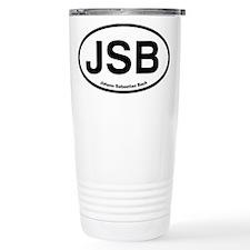 JSB Johann Sebastian Bach Travel Mug