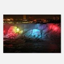 Unique Niagara falls in winter Postcards (Package of 8)