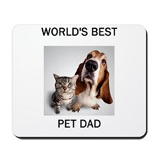 World's Best Pet Dad Mousepad