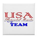 Team USA: Horizontal Mambo Tile Coaster