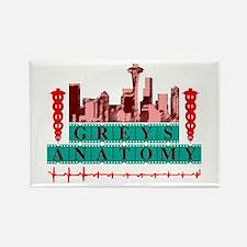 Grey's Anatomy Rectangle Magnet
