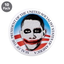 "Seal of the USSA 3.5"" Button (10 pack)"