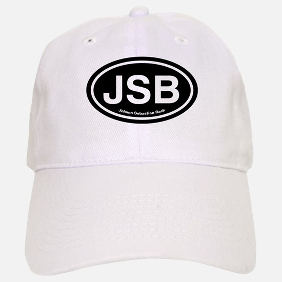 JSB Johann Sebastian Bach Baseball Baseball Cap