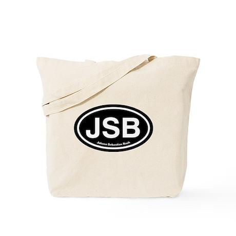 JSB Johann Sebastian Bach Tote Bag