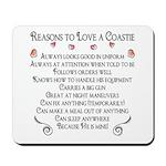10 Reasons to love a Coastie Mousepad