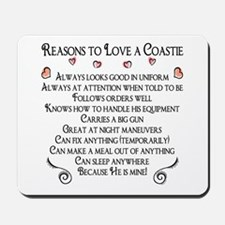 10 Reasons to love a Coastie Mousepad