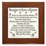 10 Reasons to love a Coastie Framed Tile