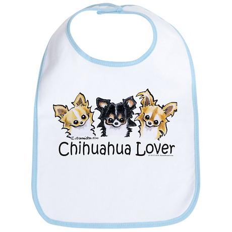 Longhair Chihuahua Lover Bib
