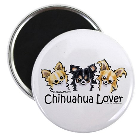 Longhair Chihuahua Lover Magnet
