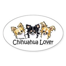 Longhair Chihuahua Lover Decal